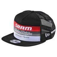 Troy Lee Designs Snapback Cap Sram Racing schwarz