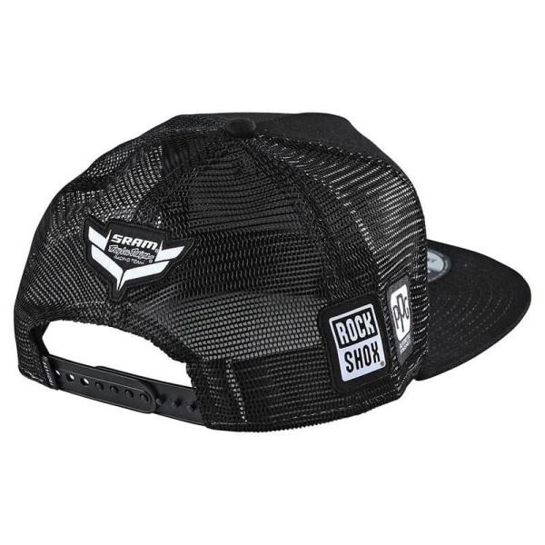 Troy Lee Designs Snapback Cap Sram Racing black