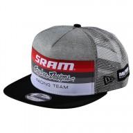 Troy Lee Designs Snapback Cap Sram Racing gris