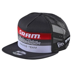 Troy Lee Designs Snapback Cap Sram Racing dunkelgrau