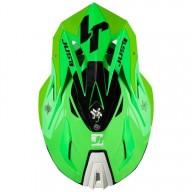 Casco Just1 J18 Pulsar verde titanio