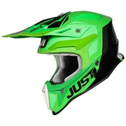 Casco Just1 J18 Pulsar verde titanio