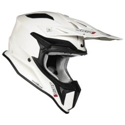 Casco cross Just1 J18 Solid white
