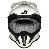 Casque cross Just1 J18 Solid white