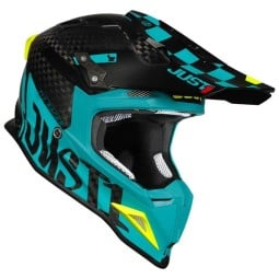 Crosshelm Just1 J12 Pro Racer Carbon blau