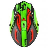 Just1 motocross helmet J38 Blade red lime