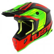 Motocrosshelm Just1 J38 Blade red lime
