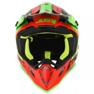 Casque motocross Just1 J38 Blade red lime