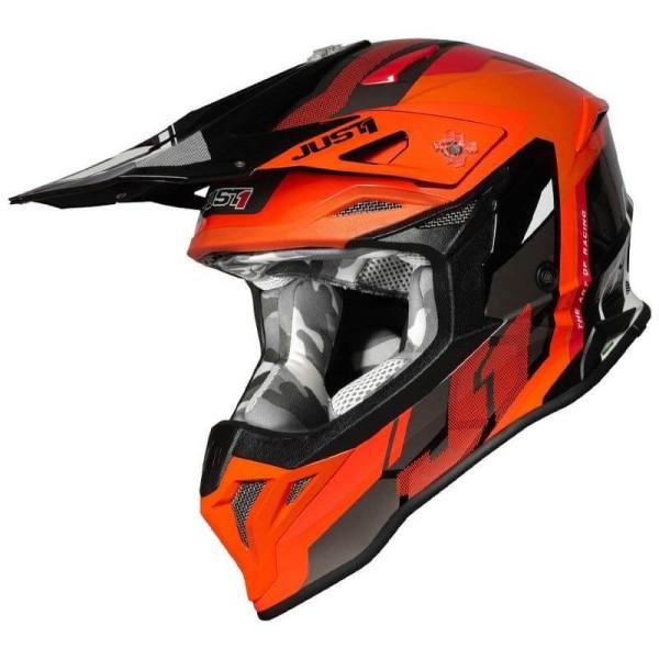 Just1 helmet J39 Reactor fluo orange