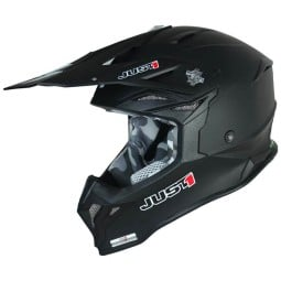 Casque cross Just1 J39 Solid matt black