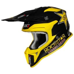 Motocross helmet Just1 J39 Rockstar Energy matt