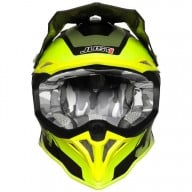 Casco de motocross Just1 J39 Reactor yellow titanium