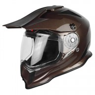 Casque enduro Just1 J14 marron
