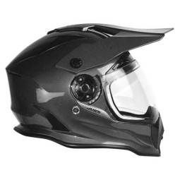 Casque enduro Just1 J14 gris