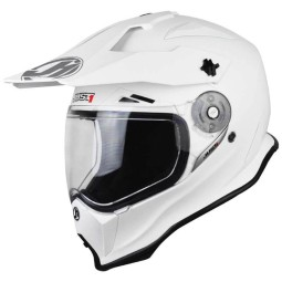 Just1 enduro helmet J14 white