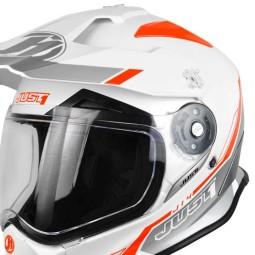 Just1 enduro helmet J14 Line white