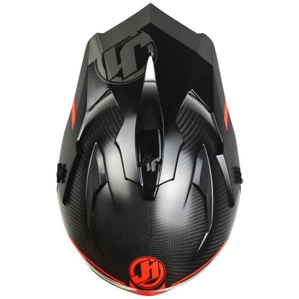 Enduro-Helm Just1 J14 Line fluo rot