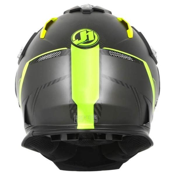 Enduro helmet Just1 J14 Line fluo carbon look