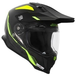 Enduro helmet Just1 J14 Line fluo carbon look