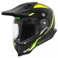 Enduro-Helm Just1 J14 Line fluo carbon look