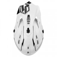 Casque downhill Just1 JDH Elements blanc