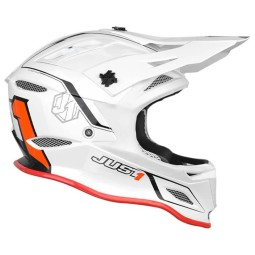 Downhill helmet Just1 JDH Elements white