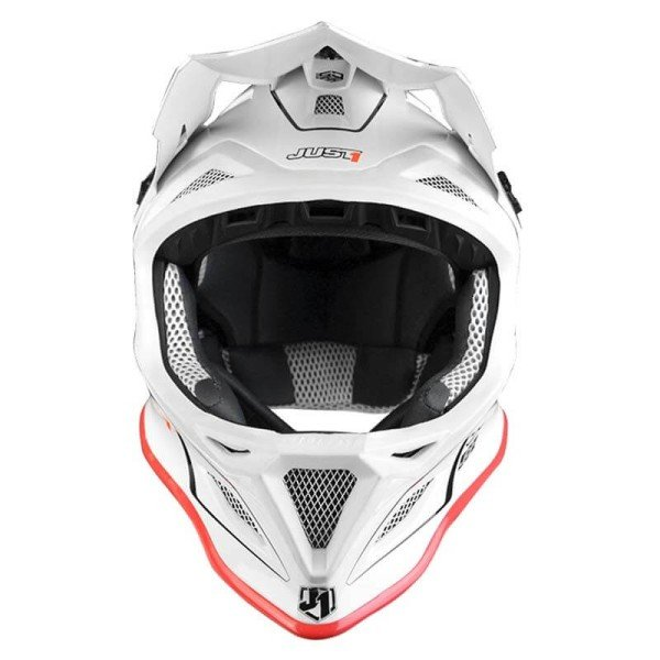 Downhill helm Just1 JDH Elements weiss