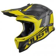 Casque downhill Just1 JDH Assault noir jaune