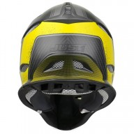 Casco para downhill Just1 JDH Assault negro amarillo