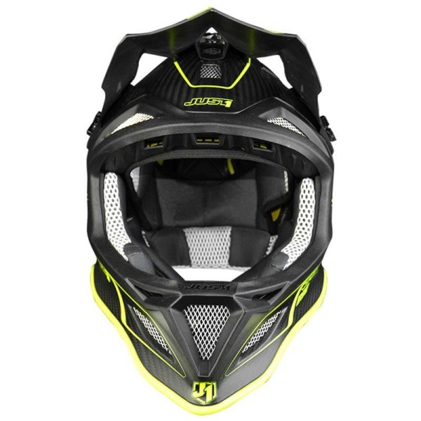 Casque downhill Just1 JDH Elements jaune