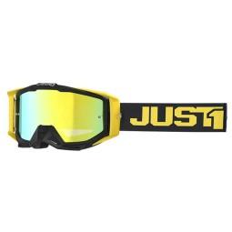 Occhialini motocross Just1 Iris Track black yellow