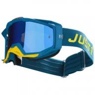 Masque motocross Just1 Iris Pulsar blue yellow