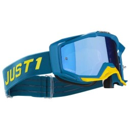 Motocross goggles Just1 Iris Pulsar blue yellow