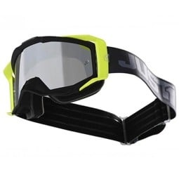 Motocross goggles Just1 Iris Track black grey
