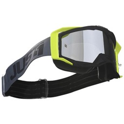 Motocrossbrille Just1 Iris Track black grey