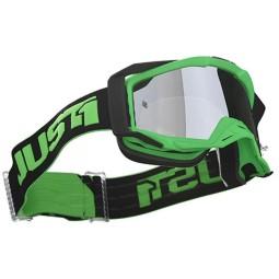 Gafa motocross Just1 Iris Track green