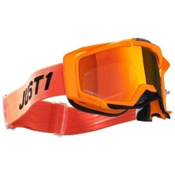 Just1 goggles Iris Pulsar fluo orange
