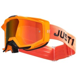Lunettes motocross Just1 Iris Pulsar fluo orange