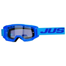 Occhiali motocross Just1 Vitro light blue