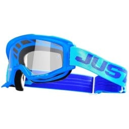 Motocross goggles Just1 Vitro light blue