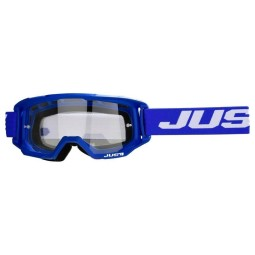 Occhiali motocross Just1 Vitro blue white