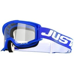 Motocross goggles Just1 Vitro blue white