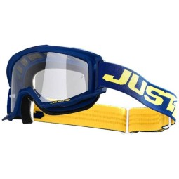 Motocross goggles Just1 Vitro blue yellow