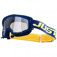 Motocrossbrille Just1 Vitro blue yellow