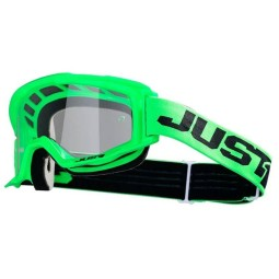 Motocross goggles Just1 Vitro fluo green