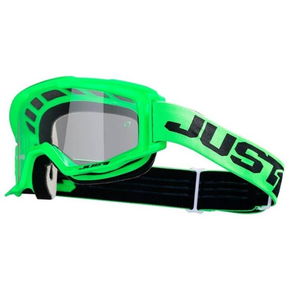 Gafa de motocross Just1 Vitro fluo green