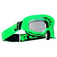 Lunettes motocross Just1 Vitro fluo green