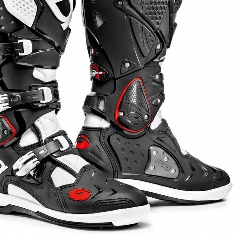 Sidi Crossfire 2 SRS boots black white