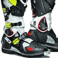 Sidi Crossfire 2 boots white black yellow