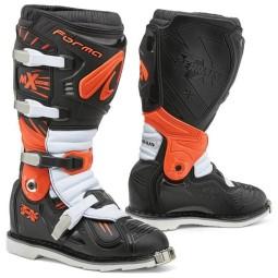 Motocross Stiefel Forma Terrain TX schwarz orange